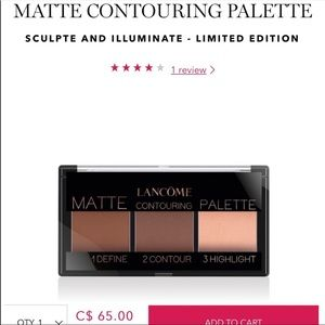 Brand new Lancôme contouring palette